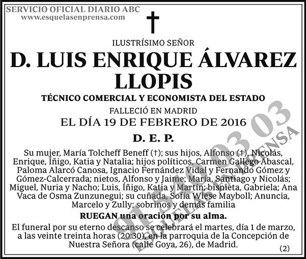 Luis Enrique Álvarez Llopis